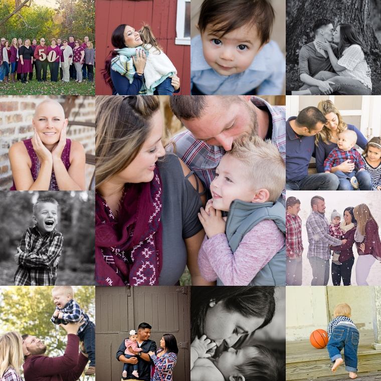 Photo Whimsy by Megan Families Collage