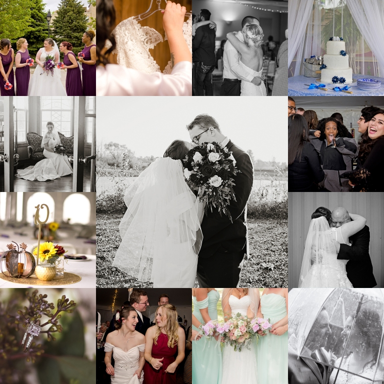 Photo Whimsy by Megan Wedding Collage